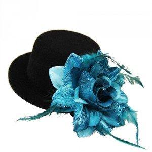 Chapeau bibi noir BLACK SUGAR, 8€.